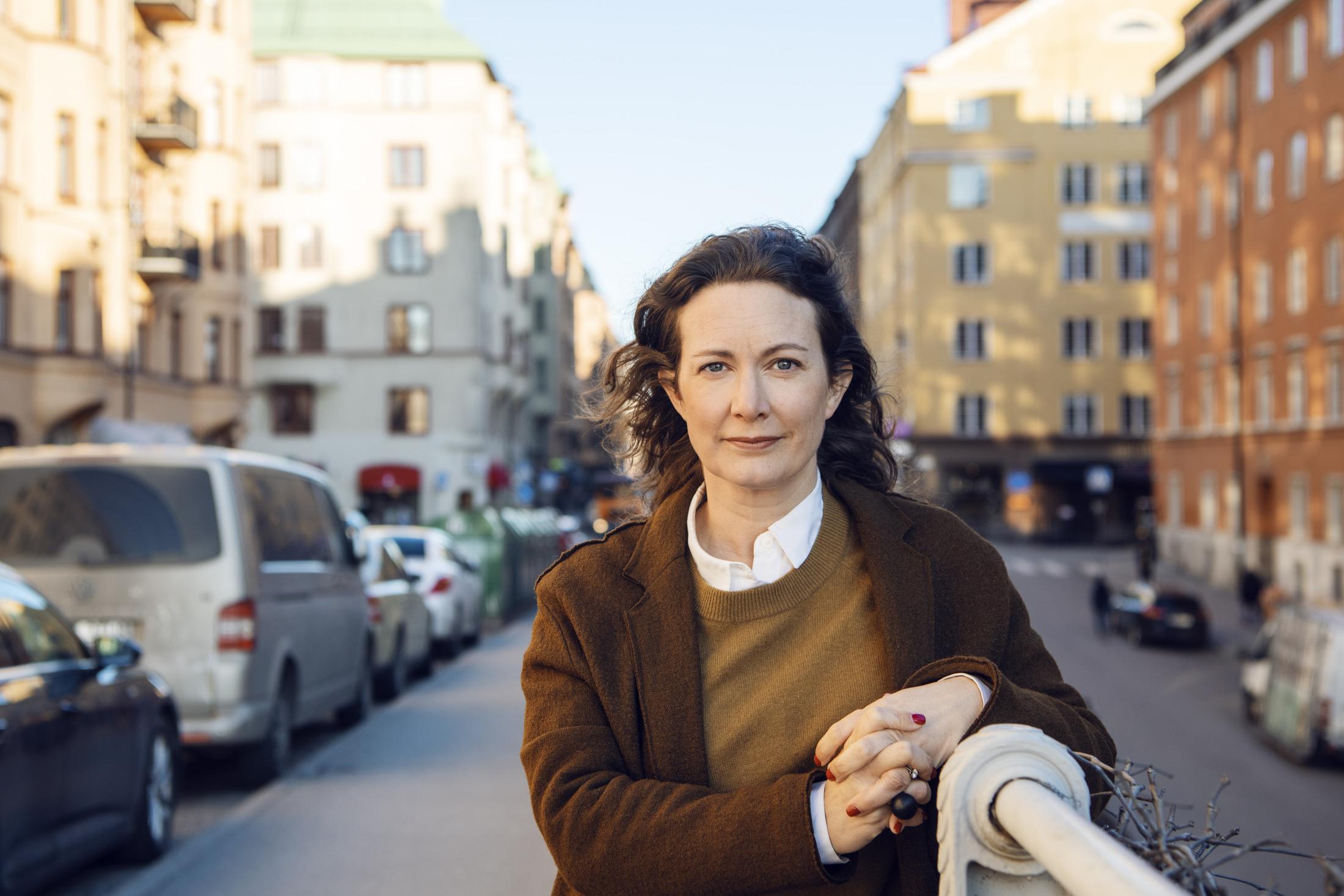 Jannice Johansson Steiner, ny styrelsemedlem på Nyréns. Foto: Jonas Ericsson