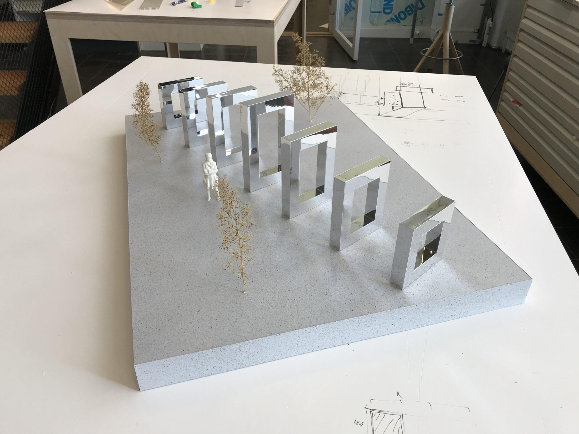 Fysisk modell, spegelramar, Nyréns modellverkstad