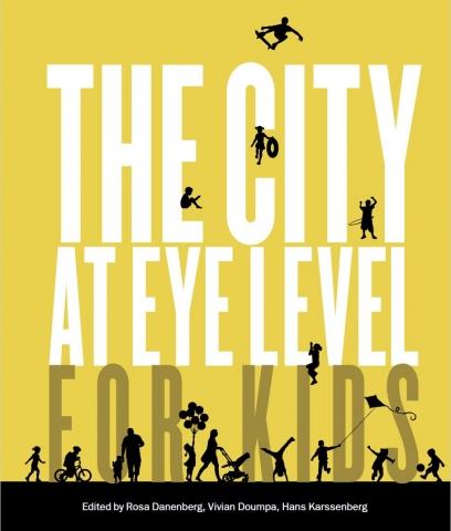 """Framsidan på boken """"The city at eye level for kids"""""""